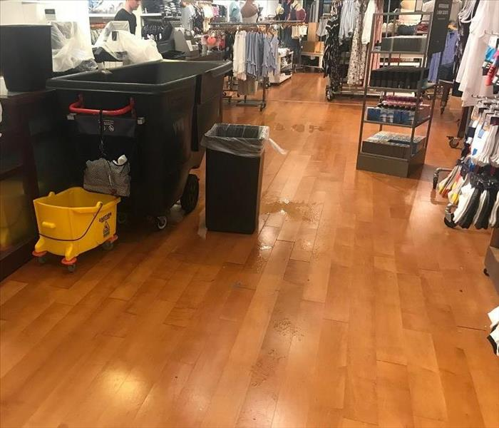 SERVPRO Responds to Water Damages in Mall