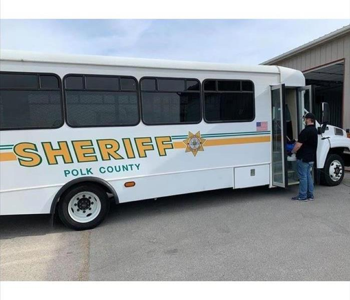 Sanitizing Polk County Sheriff